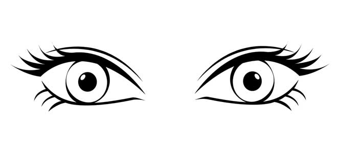 Černé oči jděte spát