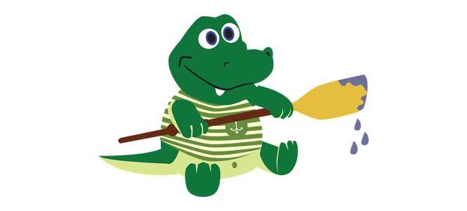 Chňapík, maličký krokodýl