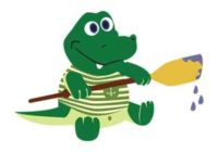 Náhled Chňapík, maličký krokodýl